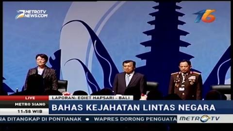 Wapres JK Buka Sidang Interpol ke-85