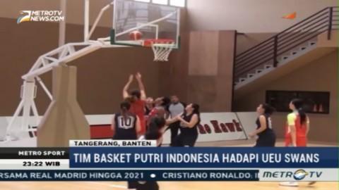 Hadapi UEU Swans, Tim Basket Putri Indonesia Menang 69-57