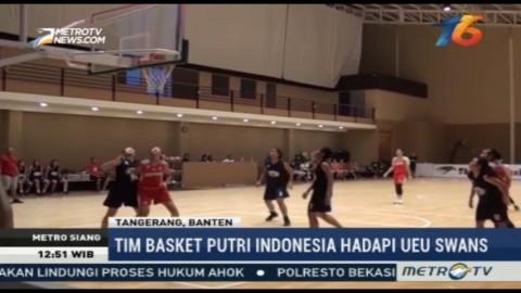 Tim Basket Putri U18 Jalani Uji Coba Melawan UEU Swans