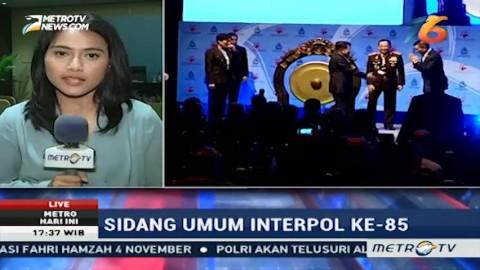 3 Poin Kesepakatan Sidang Interpol Hari Kedua