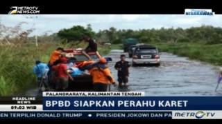 Jalan Trans Kalimantan Terendam Banjir