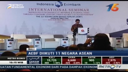 Asian Exim Banks Forum ke-22 Digelar di Indonesia