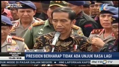 Jokowi Berharap Tidak Ada Demo Lagi