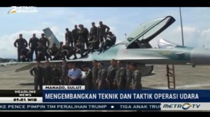 Latihan Bersama Angkatan Udara Indonesia-Amerika Ditutup