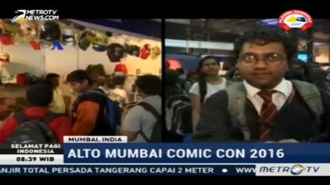 Ribuan Penggemar Komik Banjiri Alto Mumbai Comic Con 2016