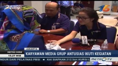 Media Group Gelar Donor Darah di HUT ke-16 Metro TV