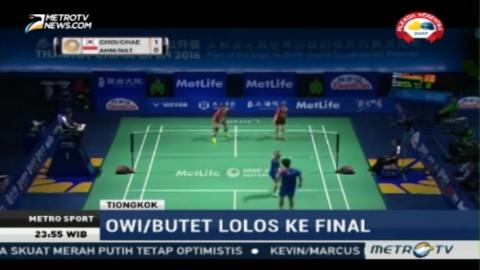 Owi/Butet Lolos ke Final Tiongkok Terbuka