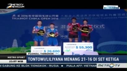Tontowi/Liliyana Juara Tiongkok Terbuka