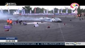 Keseruan Kompetisi Drifting AMF 2016 di Yogyakarta