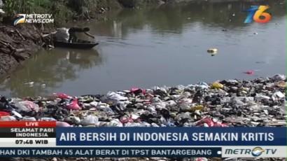 WWF: Indonesia Defisit Air Bersih