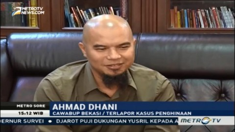 Ahmad Dhani Khawatir Kasusnya Dikriminalisasi