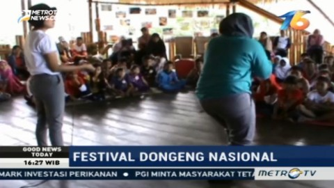 Festival Dongeng Nasional Digelar di Poso
