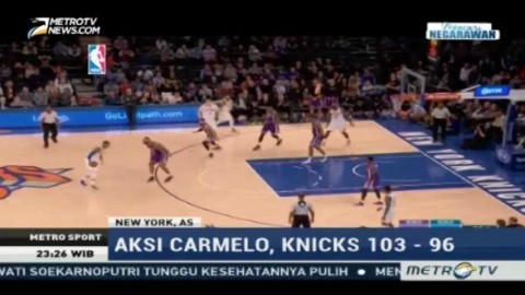 Hadapi Sacramento Kings, New York Knicks Unggul 106-98
