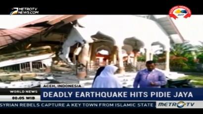 6,5 Magnitude Eartquake in Aceh Kills 94