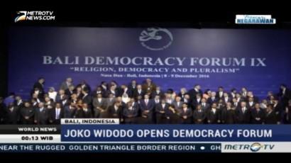President Joko Widodo Opens Bali Democracy Forum IX