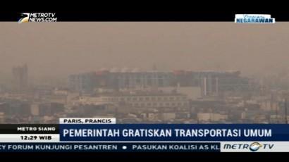 Tekan Polusi, Paris Gratiskan Biaya Transportasi Umum