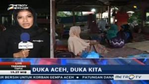 Kondisi Posko Pengungsian di Masjid Baitul Aman Memprihatinkan