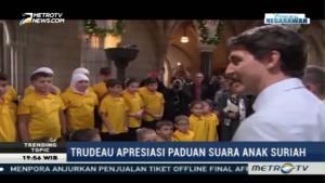 Trudeau Apresiasi Paduan Suara Anak Suriah