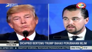 Leonardo DiCaprio Bertemu Trump Bahas Perubahan Iklim