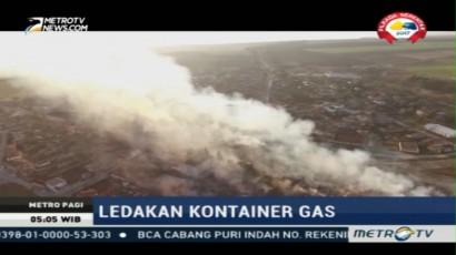 Empat Orang Tewas Akibat Ledakan Kontainer Gas di Bulgaria