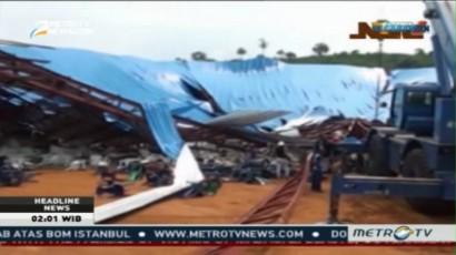 Atap Gereja di Nigeria Runtuh, 60 Tewas
