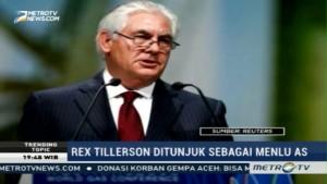 Trump Tunjuk Rex Tillerson Jadi Menlu AS