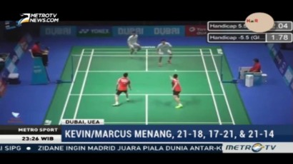 Wakil Indonesia Saling Bertemu di BWF Super Series Finals 2016