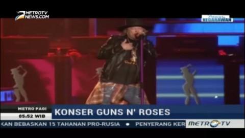 Guns N' Roses Kunjungi Negara Asia di 2017