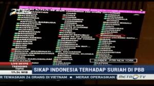 Alasan Indonesia Abstain dalam Resolusi Damai Suriah Juli Lalu