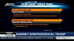 Calon Pejabat Kabinet Donald Trump yang Kontroversial