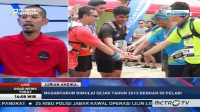 Berlari Sambil Berbagi di Nusantara Run