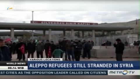 Aleppo Refugees Still Stranded in Syria