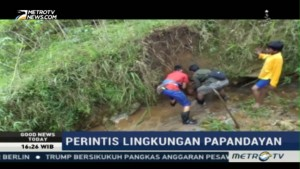 Mengenal Sosok Pelestari Lingkungan Gunung Papandayan