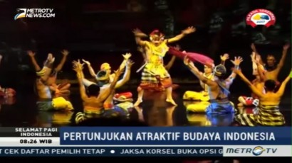 Devdan Show Tampilkan Kekayaan Budaya Nusantara