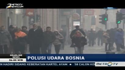 Polusi Udara di Sarajevo Meningkat, Pemerintah Batasi Jumlah Kendaraan
