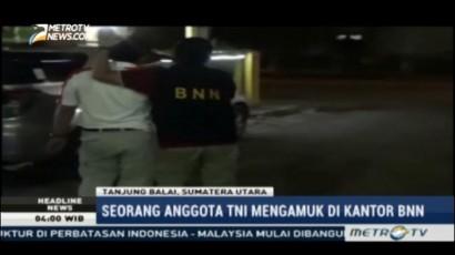 Seorang Oknum TNI Aniaya Anggota BNN Tanjungbalai