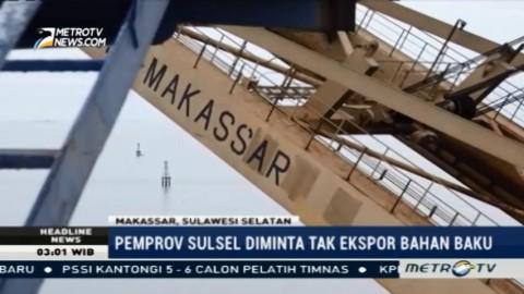 Nilai Ekspor di Terminal Peti Kemas Makassar Turun 8%