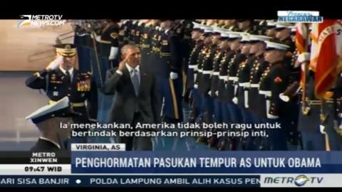 Obama: Jangan Memulai Perang Karena Politik
