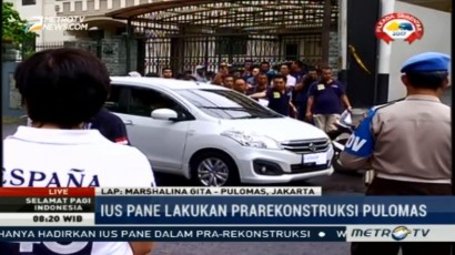 Sakit, Erwin Situmorang dan Alvin Berius Sinaga Tak Hadir Prarekonstruksi
