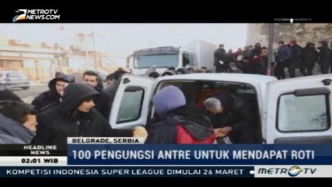 Cuaca Ekstrem, Kondisi Migran di Serbia Memprihatinkan