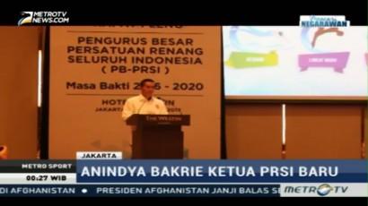 Anindya Bakrie Dilantik Jadi Ketua PRSI Baru