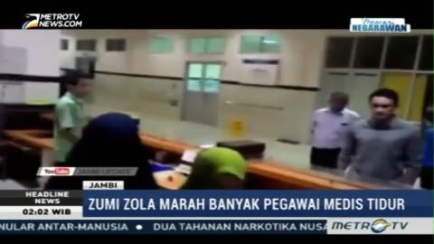 Gubernur Zumi Zola Marah saat Sidak Rumah Sakit