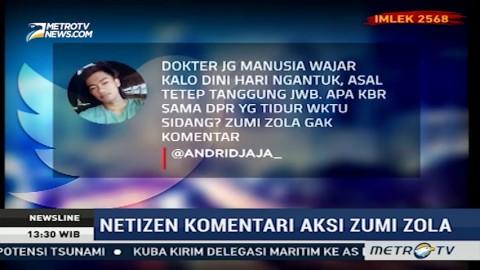 Cibiran Netizen Atas Aksi Zumi Zola