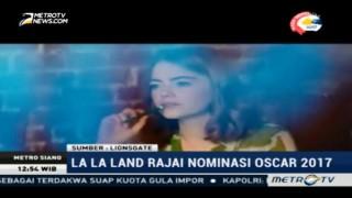 La La Land Rajai Nominasi Oscar 2017