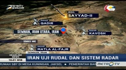 Iran Uji Coba Rudal dan Sistem Radar
