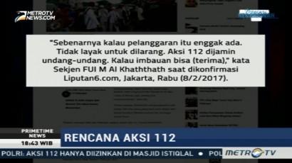 FUI Tegaskan Aksi 112 akan Tetap Berlangsung