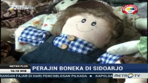 Boneka Ramah Lingkungan dari Sidoarjo untuk Hari Valentine