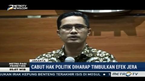KPK Apresiasi Pencabutan Hak Politik Irman Gusman