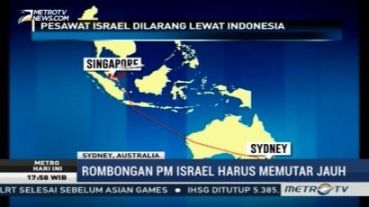 Dilarang Lewat Indonesia, Pesawat Israel Terbang Memutar Menuju Sydney