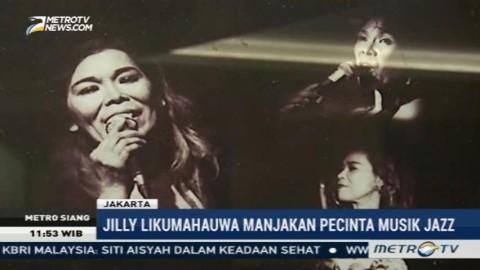 Jilly Likumahuwa Manjakan Pecinta Musik Jazz di Motion Blue Jakarta